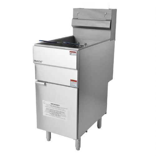 Gas Fryer Free Standing Single Tank with Twin Baskets 18 Ltr - GF90